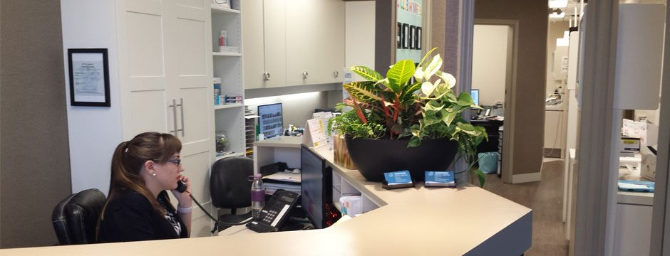 Willowbrook Park Dental Centre Reception