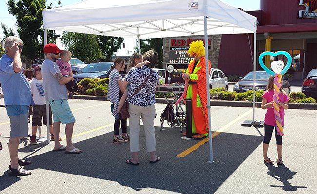 Family Fun Day at Willowbrook Park Dental Centre in Langley