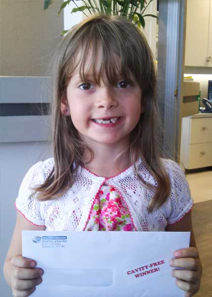 Marlene Cavity Free Club Winner