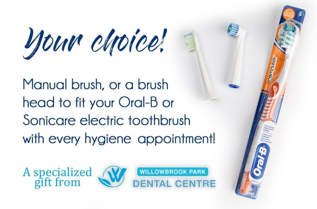 willowbrook park dental toothbrush choices