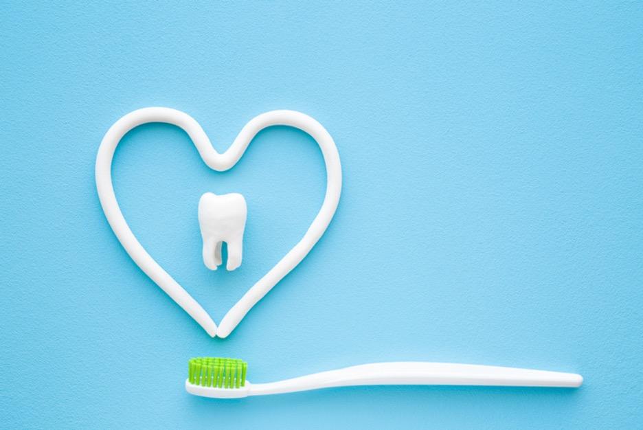 toothpaste heart